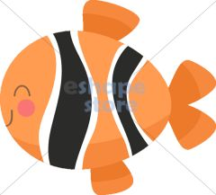 cute clown fish