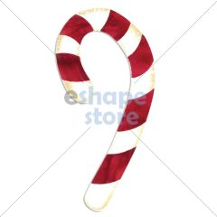 Candy Cane - Fabric