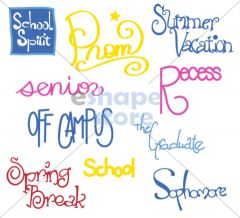 School Phrases Set 2