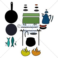 Camp Cooking Set