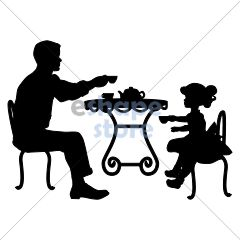 Father Daughter Tea Party
