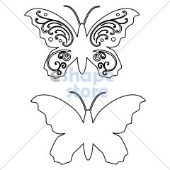Flourish Butterfly