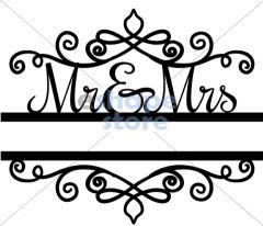 Mr & Mrs Split Title