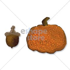 Acorn Pumpkin Set