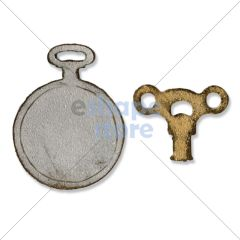 Clock Key Pocket Watch