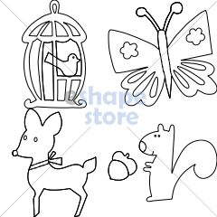 Tween Animals Set