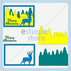 Layered Christmas Card