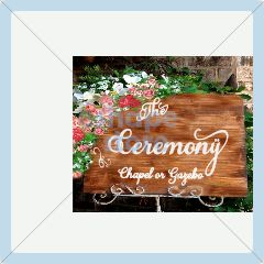ceremony words sign